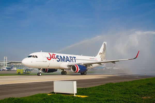 Llegada JetSmart